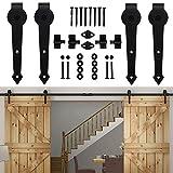 HomeDeco Hardware Barn Door Hardware Sliding Doors Pocket Interior For Sale Diy Track Baldwin ...