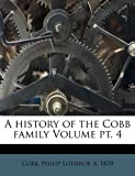 A History of the Cobb Family, , 1172079366