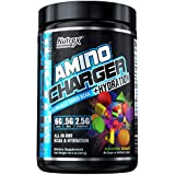 Nutrex Research Amino Charger Plus Hydration | BCAA, Coconut Water, Electrolytes, Taurine, Magnesium for Maximum Performance & Recovery | Cosmic Blast | 30 Servings
