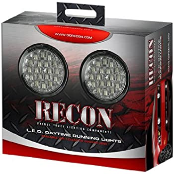 Amazon Com Recon 264152cl Daytime Running Lights Automotive
