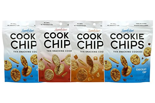 HannahMax Cookie Chips 4 Piece Variety Pack