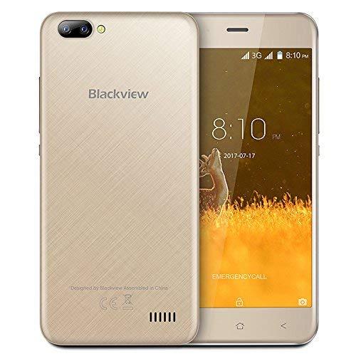Teléfono EU, Blackview A7 Smartphone Desbloqueado, Cámaras ...