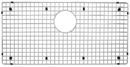 Blanco 223192 Stainless Steel Sink Grid, Fits Precision and Precision 10 Super Single, Stainless Steel Precision Super Single