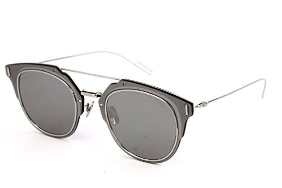 f5a3887f6a8 Image Unavailable. Image not available for. Color  Dior Homme Composit 1.0  010 Palladium Composit 1.0 Round Sunglasses Lens Catego