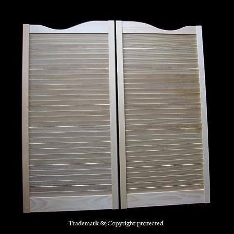 Cafe Doors by Cafe Doors Emporium | Pine Cafe Doors :: Prefit for 36