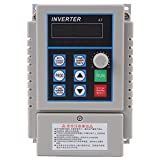 Walfront 0.45kW VFD Drive Inverter, 220V AC Variable Frequency Drive VFD Speed Controller Inverter for 3-phase Motor