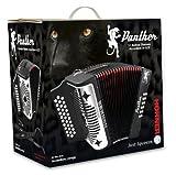 Hohner Panther Diatonic Accordion - Keys F/Bb/Eb