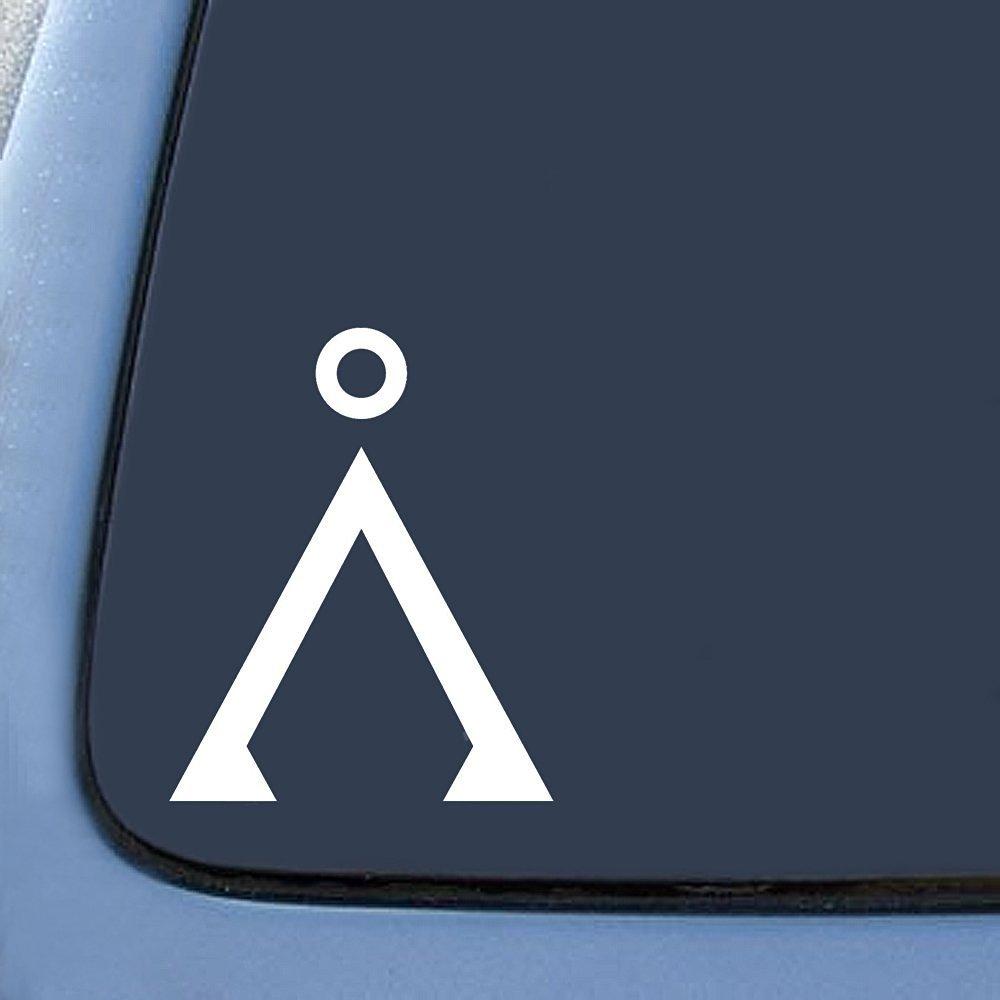 Amazon Stargate Earth Inspired Logo Sticker Decal Notebook Car