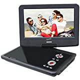 Supersonic SC-259A 9'' Portable DVD Player with Digital TV & Swivel Display