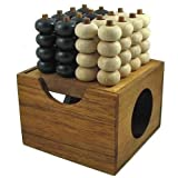 Connect Four 3D Wooden Strategy Game