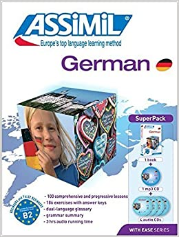 German Super Pack - 1 Book + 1 MP3 CD + 4 Audio CDs (German Edition) by Assimil (2014-11-06)