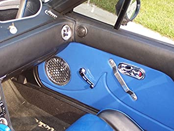 RedlineGoods Window sill Covers Compatible with Mazda Miata NA 1990-97 Black Leather-Red Thread