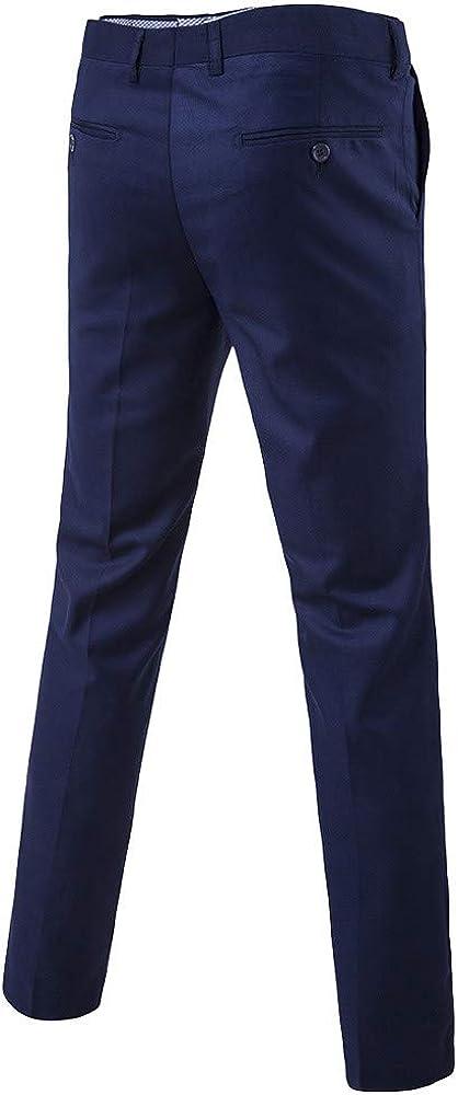 Homebaby 3pcs Blazer Uomo Giacca Elegante Panciotto Gilet Formale Basse Slim Fit Fiesta Colletto Cappotto Casual Lavoro Completo Classic Festa Smoking Cardigan Pantaloni
