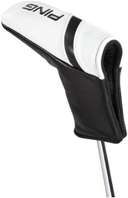 Ping Am Piel Funda 2017 Putter de Golf, Color Blanco/Negro: Amazon ...