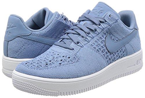 Homme Bleu 7 Af1 de 5 8 Us Chaussure 42 402 5 Course pour Travail Ultra 817419 Nike Flyknit Bas UK Eu Baskets Blanc 8x7dfRRq