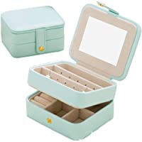 Jewelry Organizer Case-Nasion.V Travel Portable Storage Box for Earring,Lipstick,Necklace,Bracelet,Ring