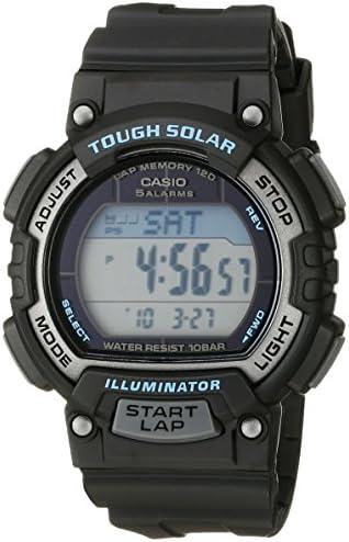 Casio Women s STL-S300H-1ACF Solar Runner Digital Display Quartz Black Watch