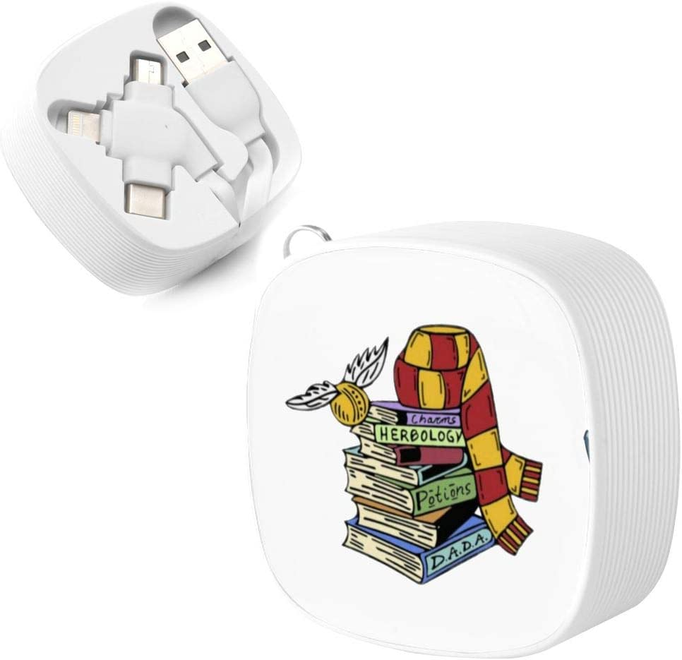 Magical Books Collection with Scarf Suitable for Any Mobile Phone Three in One Data Line