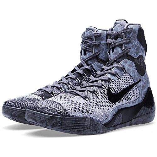 nicekicks cheap price pay with paypal cheap online Nike Men's - Kobe IX Eite *Rare* - Dark Grey Black w0g09YQmJL