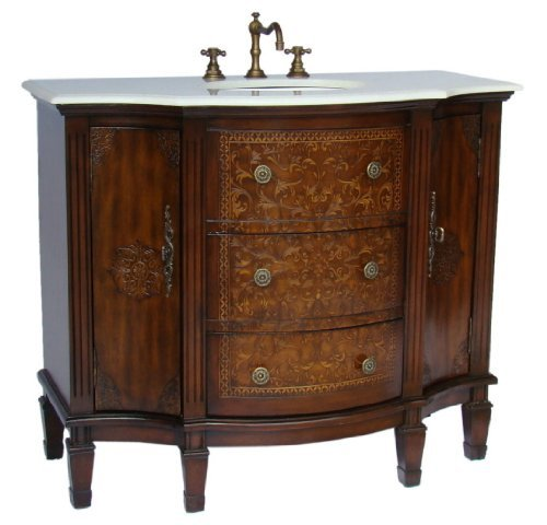 42 Stunning Algaringo Bathroom Sink Vanity – Model HF1214