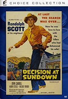 Book Cover: Decision At Sundown
