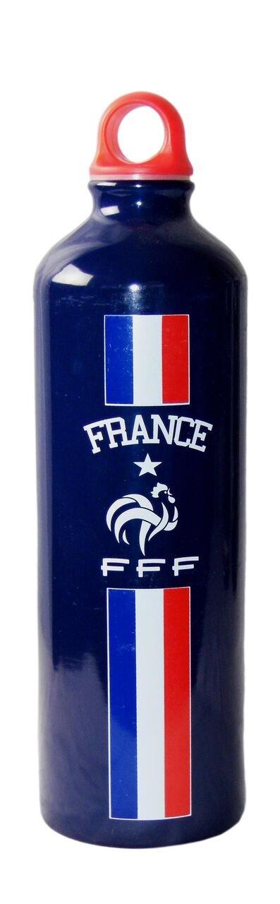 Blue FFF French Football Federation Men fffgoualu Water Bottle
