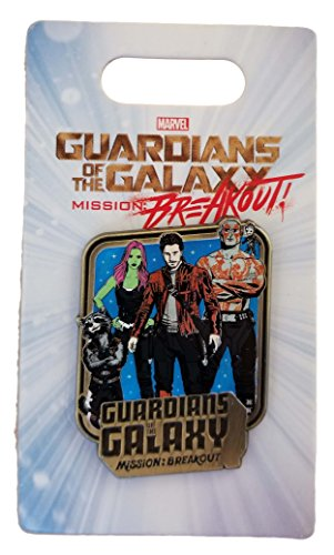(Disney Pin - Guardians of the Galaxy - Mission: BREAKOUT)