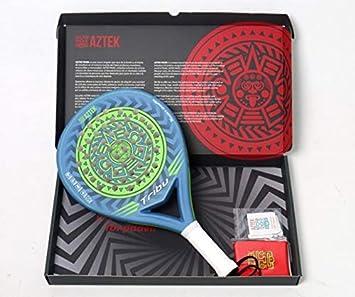 AZTEK Pala de Padel Modelo Tribu para Mujer y Hombre en Color Azul ...