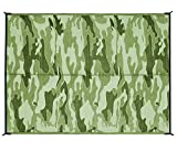 Automotive : Camco Camouflage Design 42886 Reversible Outdoor Mat-6' X 9'