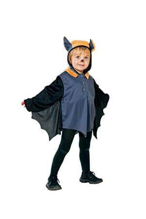 Rubbies Disfraz de murciélago para niño, talla 92 cm (1 2624 92)