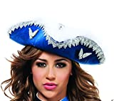 Starline Women's Musketeer Hat, Blue/Silver, One Size