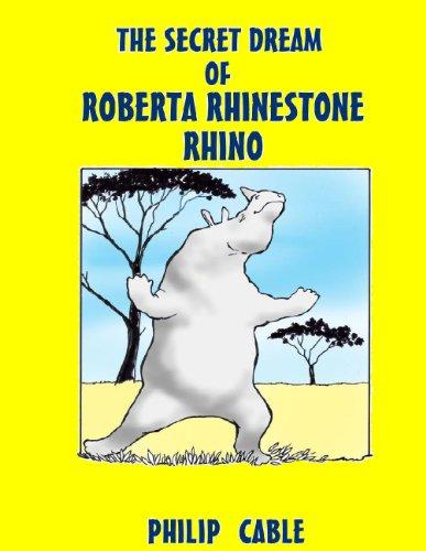 THE SECRET DREAM OF ROBERTA RHINESTONE RHINO -