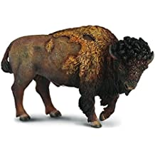 CollectA Wildlife American Bison Great Plains Toy Figure - Authentic Hand Painted Model