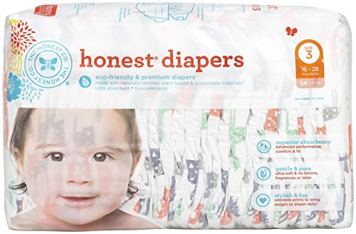 The Honest Company Diapers Size 1 - GIRAFFES
