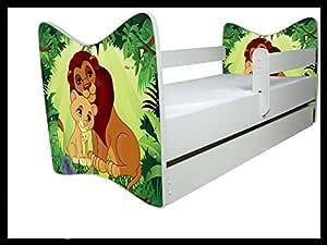 Cama Infantil El Rey León diferentes colores, con y sin cajón ...
