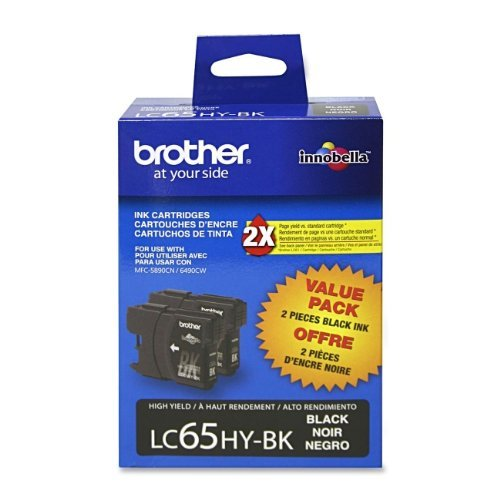 - Brother MFC-6490CW Black Ink Twin Pack (OEM) 900 Pages Ea.