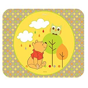 Winnie The Pooh Customized Standard Rectangle Black Mouse Pad Mat
