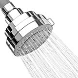 AKDY 3.5' Round Bath 5 Setting Multi-Function Rainfall Jet Spray Chrome Shower Head