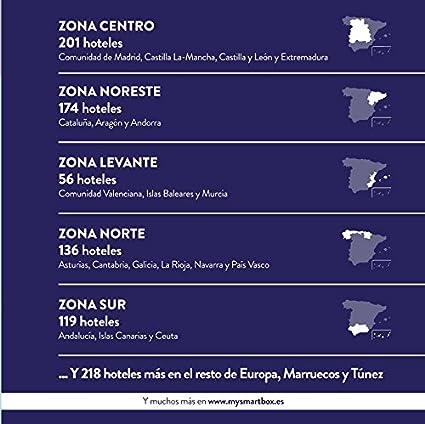 SMARTBOX - Caja Regalo - MIL Y UNA NOCHES DE AMOR - 900 lujosos ...