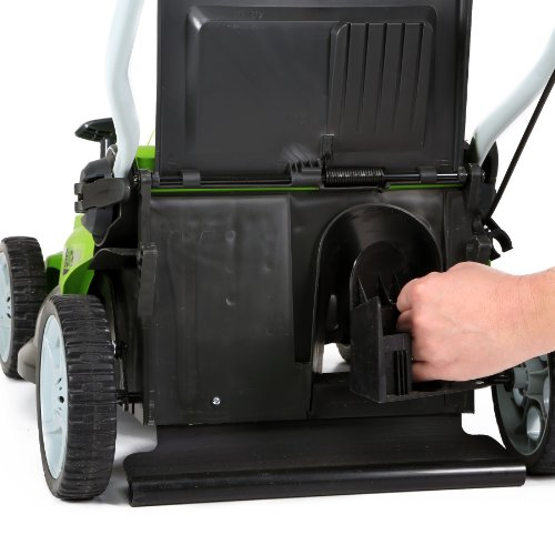 GreenWorks 16 Inch 40V cord-less Walk Behind Lawn Mowers