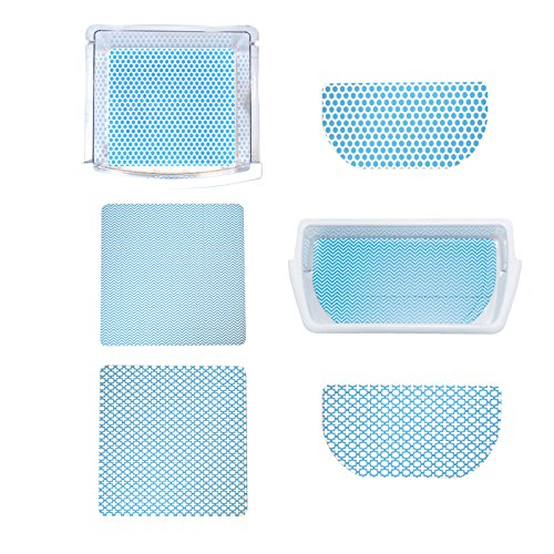 Fridge Coaster Pack Set, Blue