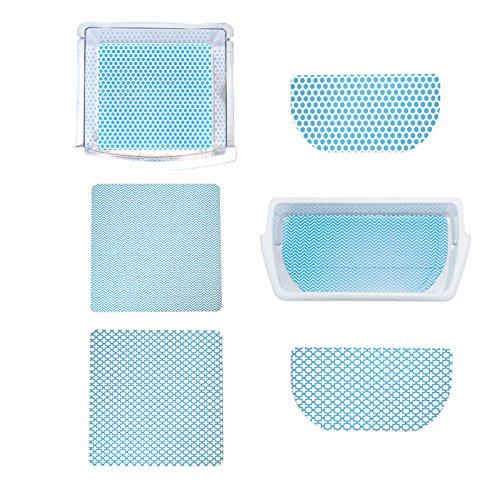 Fridge Coaster Pack Set, Blue