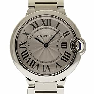 Cartier Ballon Bleu swiss-quartz mens Watch W69011Z4 (Certified Pre-owned)