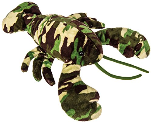 Mary Meyer Green Camo Lobster Plush Toy, (Green Camo Plush)