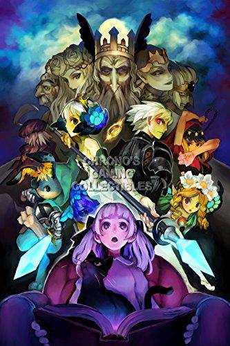 CGC Huge Poster - Odin Sphere Leifthrasir PS4 PS3 PS2 Vita