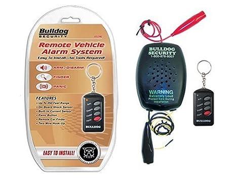 Enjoyable Amazon Com Bulldog Security Alarm With 2 Wire Hook Up Automotive Wiring Database Gramgelartorg