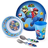 Franco Kids Dinnerware Cartoon Designed Mealtime