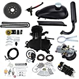 UAUS Black Engine Kit Fit For 80cc 2 Stroke Gas Motorized Bicycle Push