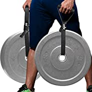 Yes4All Weightlifting Handle Straps Deadlift Straps Excercise Straps Farmers Walk Straps Farmer Walk Handles S