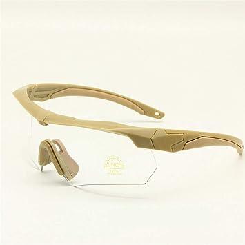 EnzoDate Balística Militar Gafas 3LS, 4LS o 5LS Kit, Gafas de Sol del ejército